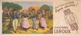 BUVARD - Chicorée LEROUX - Danse Bretonne - Café & Thé