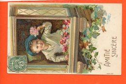 Enfant - Fantaisie Gaufrée - Serie  570 - Enfants