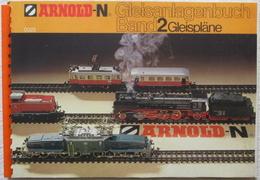 ARNOLD-N Gleisanlagenbuch Band 2 0023 Gleispläne TV Hafenanlage Modellbaukasten - Gleise