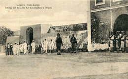 Guerra Italo-Turco   Interno Del Castello Del Governatore  TRIPOLI  135 - Libye