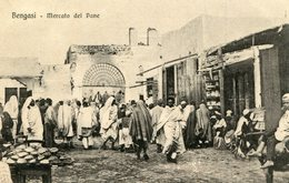 BENGASI   Mercato Del Pane  136 - Libye