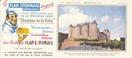 BUVARD - Flan Lyonnais - Château De Luynes - Sucreries & Gâteaux