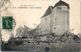 46 - CREYSSE --  Vieux Château - Autres Communes