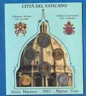 Vaticano 10 20 50 100 200 500 Lire 1987  Papa Giovanni Paolo I° Pope - Vatican