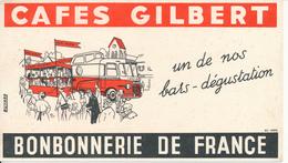 BUVARD - Café Gilbert, Bonbonnerie De France - Café & Thé