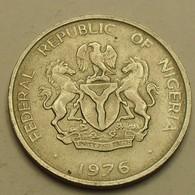 1976 - Nigeria - Federal Republic - 10 KOBO - KM 10.1 - Nigeria