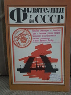 Russia  Magazine USSR Philately 1987  Nr.11 - Livres, BD, Revues
