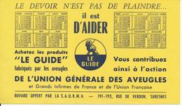 BUVARD - Union Générale Des Aveugles - Autres
