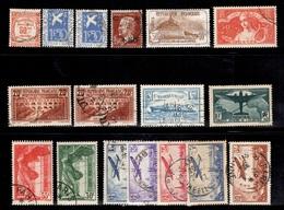 France Belle Petite Collection De Bonnes Valeurs Oblitérées 1908/1937. B/TB. A Saisir! - France