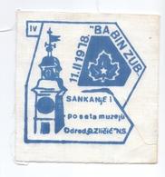 "Patch ""Sledding"" Babin Zub 11.II 1978. Unit Scout Djordje Zlicic Novi Sad Serbia Yugoslavia Scouting - Scoutisme"