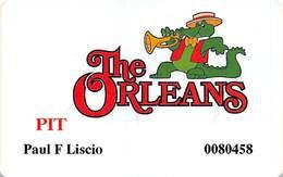 The Orleans Casino - Las Vegas, NV - Pit Slot Card - Casino Cards