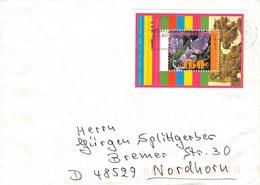 NETHERLANDS - MINISHEET 1996 KEUKENHOF Mi #BLOCK 47 - Period 1980-... (Beatrix)