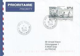 St.Pierre & Miquelon 2004 St Pierre Naufrage Shipwreck L'Afrique Cover - St.Pierre & Miquelon