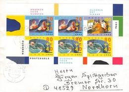 NETHERLANDS - MINISHEET 1996 OUDEREN VOOR ANDEREN Mi #BLOCK 48 - Period 1980-... (Beatrix)