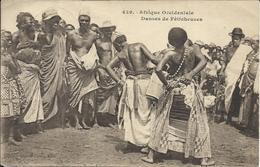 Afrique Occidentale , Danseuses De Féticheuses , 1923 , CPA ANIMEE - Sénégal
