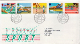 Great Britain Set On FDCs - Stamps