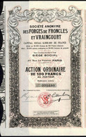 FORGES De VRONCLES Et VRAINCOURT - Industrie