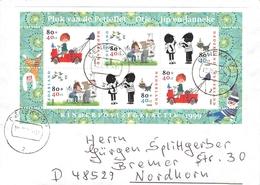 NETHERLANDS - MINISHEET 1999 VOOR HET KIND Mi #BLOCK 62 - Period 1980-... (Beatrix)