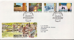 Great Britain Set On FDCs - Factories & Industries