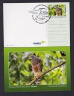 21.- COSTA RICA 2018 POSTAL STATIONERY BIRDS - NATIONAL PARK CARARA - Costa Rica