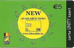 Belgium: IDT Unity New Available Now 12.08 - Belgien