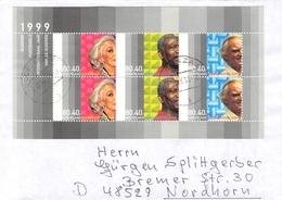 NETHERLANDS - MINISHEET 1999 INTERNATIONAAL JAAR VAN DE OUDEREN Mi #BLOCK 59 - Period 1980-... (Beatrix)