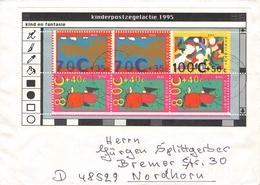 NETHERLANDS - MINISHEET 1995 KIND EN FANTASIE Mi #BLOCK 45 - Period 1980-... (Beatrix)