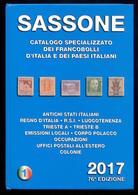 CATALOGO SASSONE 2017 VOLUME 1 - ASI REGNO R.S.I. TRIESTE A/B OCCUPAZIONI EMISSIONI LOCALI COLONIE - Italia