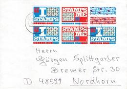 NETHERLANDS - MINISHEET 1999 LOVE Mi #1718-1719 - Period 1980-... (Beatrix)