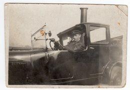 < Automobile Auto Voiture Car >> Belle Photo Originale 6 X 9, Tacot Ford? Driver Chauffeur - Auto's