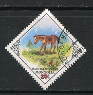 MONACO- Y&T N°1217- Oblitéré (cheval) - Mongolie