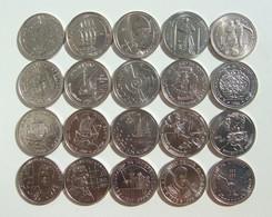 Lp PORTUGAL / AZORES - 1984 - 1995 - 100 Escudos Set UNC (20 Coins) - Portugal