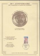 Plaquette 20 Ans Chiffres Et Lettres Armand Jammot Cachet Grand Tournoi NIMES 30/9/1985 Format 30 X 21 Cm - Lettres & Documents