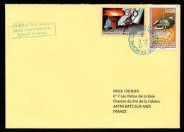 Enveloppe Du 11 04 2017 Djibouti Pour La France - Djibouti (1977-...)