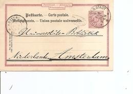 Wurtemberg ( EP De 1902 De Tubingen  Vers Les Pays-Bas à Voir) - Wuerttemberg