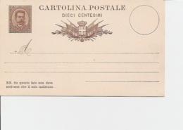 Italien P 6 ** - 10 Cmi Umberto - 1878-00 Humbert I.