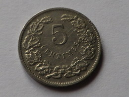 Luxembourg   5 Centimes 1908 Km#26 Cupronickel TTB  Guillaume IV - Luxembourg