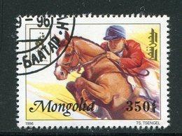 MONAGOLIE Y&T N°2093- Oblitéré - Jumping