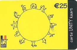 Belgium: IDT Unity € 25 - Belgien