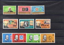 Rowland Hill  Timbres Neufs ** De 1979 En Séries Complètes ( Ref 2630 ) Timbres Sur Timbres - Poste