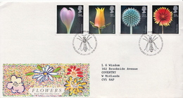 Great Britain Set On Used FDC - Plants
