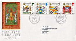 Great Britain Set On Used FDC - Covers