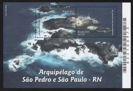 BRAZIL 2014  -  Archipelago Of Saint Peter And Saint Paul  2v  - S/S  MINT - Brazilië