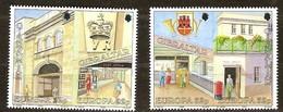 Gibraltar 1990 Yvertn° 599-602 *** MNH Cote 6 Euro Cept Europa - Gibraltar