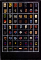 Collection 63 Different Pins Pin DES Novi Sad Working Organization Of Deaf People Yugoslavia Deaf Mute - Medical