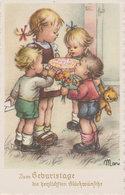 Herzlihen Glückwunsch Zum Geburstag  (K3) - Geburtstag