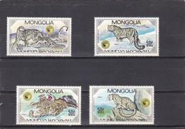 Mongolia Nº 1374 Al 1377 - Mongolia