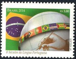 BRAZIL 2014  -  EIGHT CENTURIES OF  THE PORTUGUESE  LANGUAGE - Brazilië