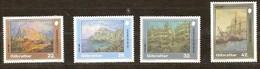 Gibraltar 1991 Yvertn° 633-36 *** MNH Cote 7,50 Euro - Gibraltar