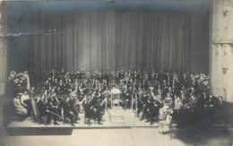 Belgique - Gent - Carte Photo D'un Orchestre De Musique Classique écrite Par Un Des Musiciens Artistes à Mr Ruyssen Rare - Gent